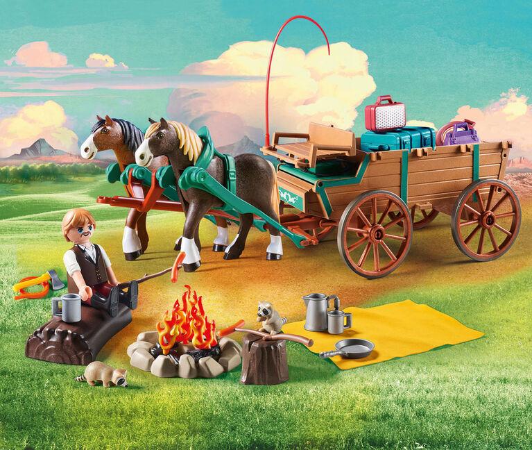 Playmobil - Spirit Lucky's Dad and Wagon