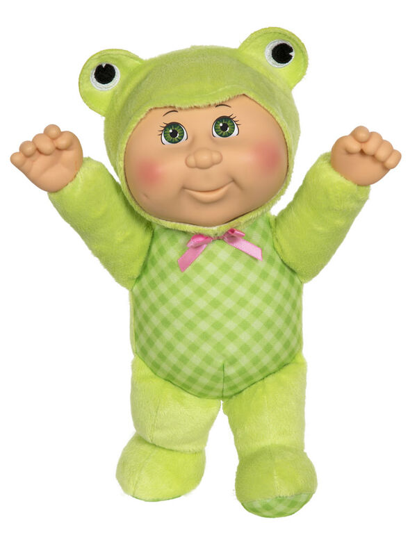 """Cabbage Patch Kids 9"""" Woodland Friend Cuties - 9"""" Ophelia Frog"""