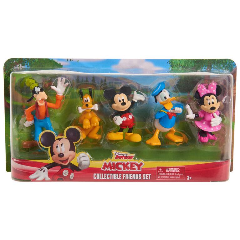 New Disney Junior /'Minnie Mouse/' 8 Piece Collectible Figure Set Ages 3