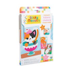 Sticky Mosaics Trousse Mobile Chatons - Notre exclusivité