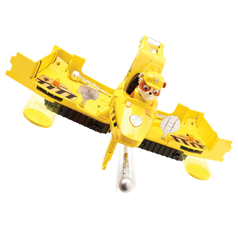 Paw Patrol - Flip & Fly Rubble, 2-in-1 Transforming Vehicle