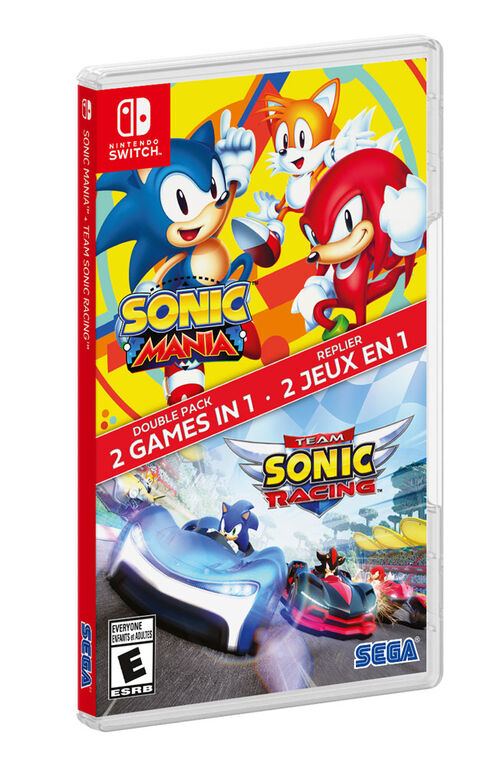 Nintendo Switch - Sonic Mania / Sonic Racing 2 Pack