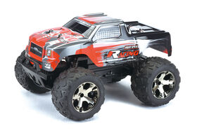 RC 1:10 Scale High Speed Buffalo Truck Black/Red - R Exclusive