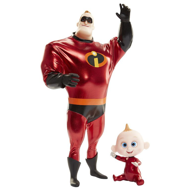 Incredibles 2 - 11in Mr Incredible and Jack-Jack