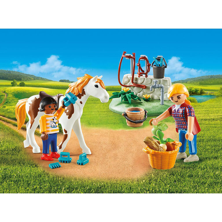 Playmobil - Horse Grooming Carry Case (9100)