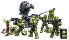 Mega Bloks Halo UNSC Fireteam Taurus Playset
