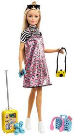 Barbie Pink Passport Doll - Travel Set - Exclusive - R Exclusive