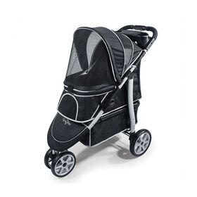 Gen7Pets Monaco Pet Stroller - Black Geometric