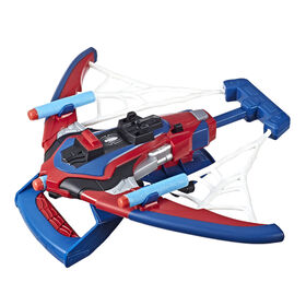 Marvel Spider-Man Web Shots Spiderbolt NERF Blaster