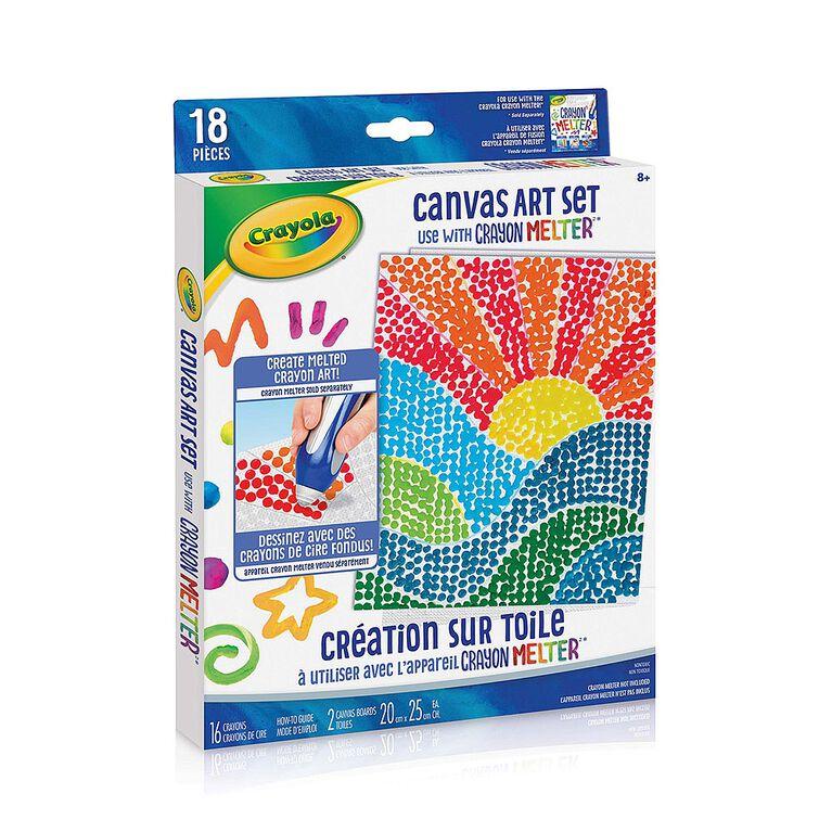 Crayola Crayon Melter Art Set, Pixel Art