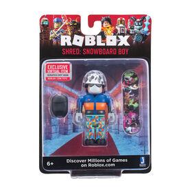 Roblox Figure Garçon de Snowboard W6 - Édition anglaise