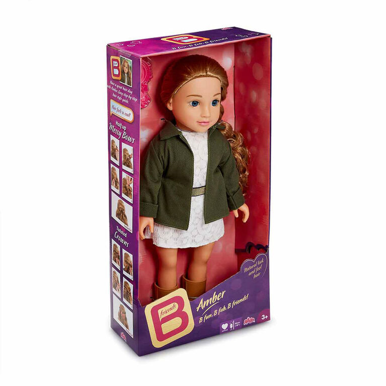 B Friends 18 inch Deluxe Doll - Amber - R Exclusive