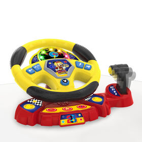 Mickey Roadster Racers Supercharged Steering Wheel
