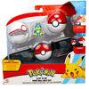 Clip 'N' Go Poké Ball Belt Set - 2 Inch Munchlax, Poké Ball, Premier Ball - English Edition