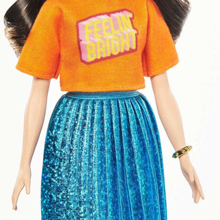 Barbie Fashionistas - Poupée 145 - jupe étincelante