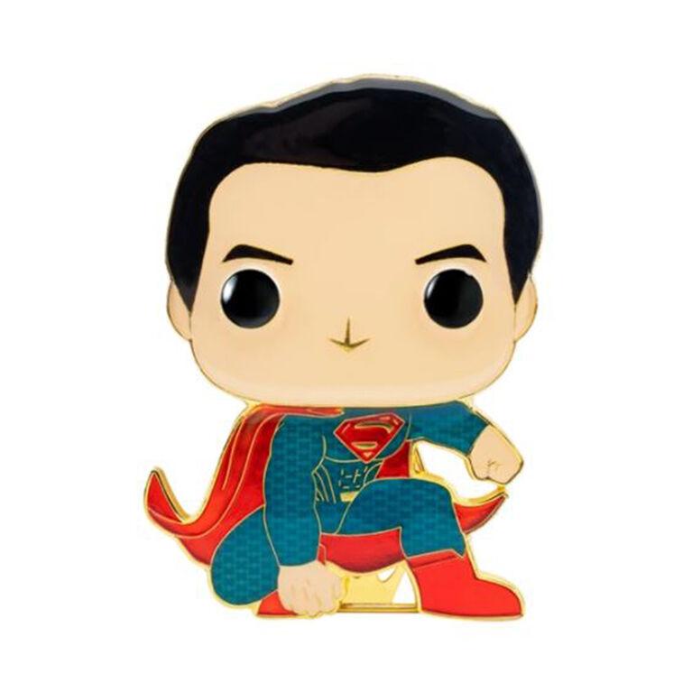 Badge émaillé Superman par Funko Pop! Justice League