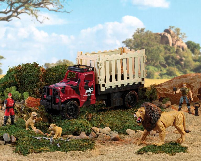 Animal Planet - Mission de sauvetage du lion