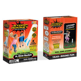 Stomp Rocket Jr. Glow - English Edition