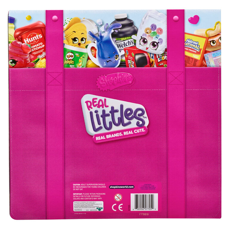 Shopkins Real LittlesMC Malette du collectionneur