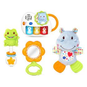 VTech Newborn Necessities Gift Set - Blue - French Edition