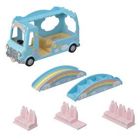 Calico Critters - Sunshine Nursery Bus