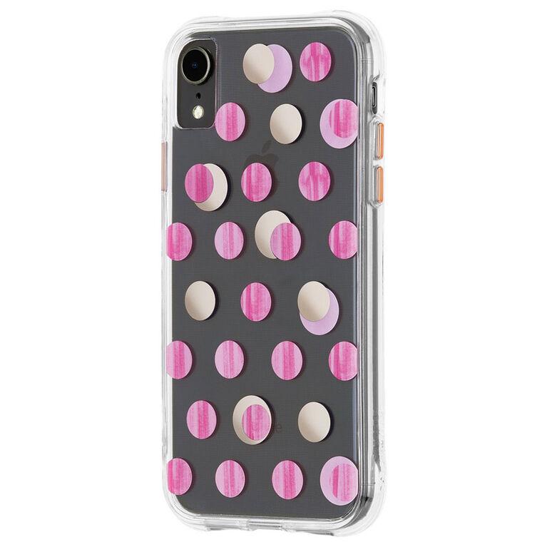 Case-Mate Wallpaper Case iPhone XR Pink Dot