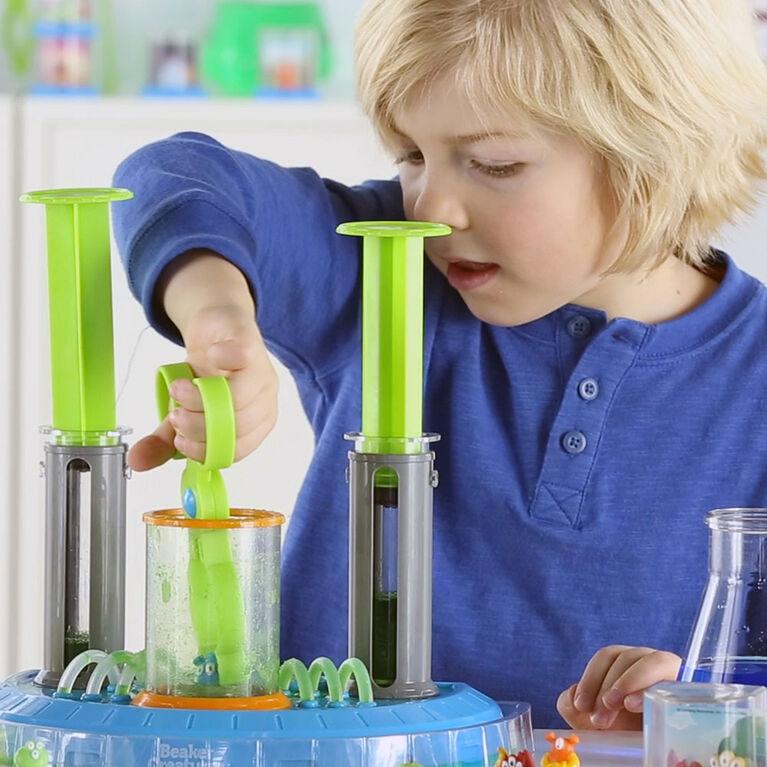 Learning Resources Beaker Creatures Liquid Reactor Super Lab - English Edition