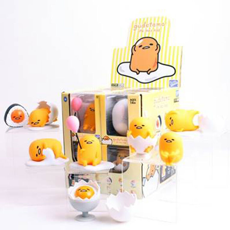 Loyal Subjects - Gudetama Collection -  les motifs peuvent varier.