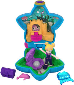 Polly Pocket – Petit Monde minuscule – Polly et Dauphin.