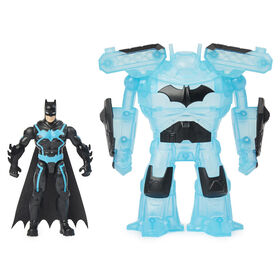 Batman Bat-Tech 4-inch Deluxe Action Figure with Transforming Tech Armor