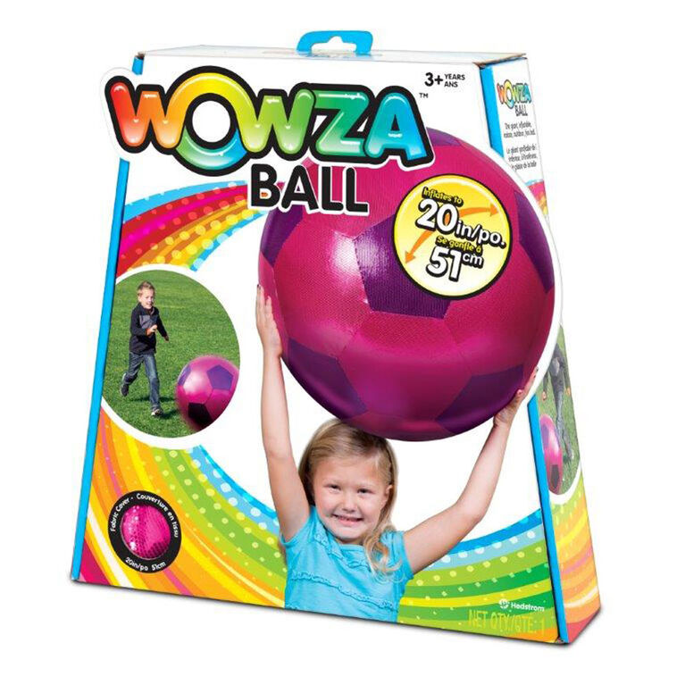 20 inch Wowza Pink Soccer Ball