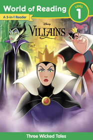 World Of Reading Dis. Villains 3Story - Édition anglaise