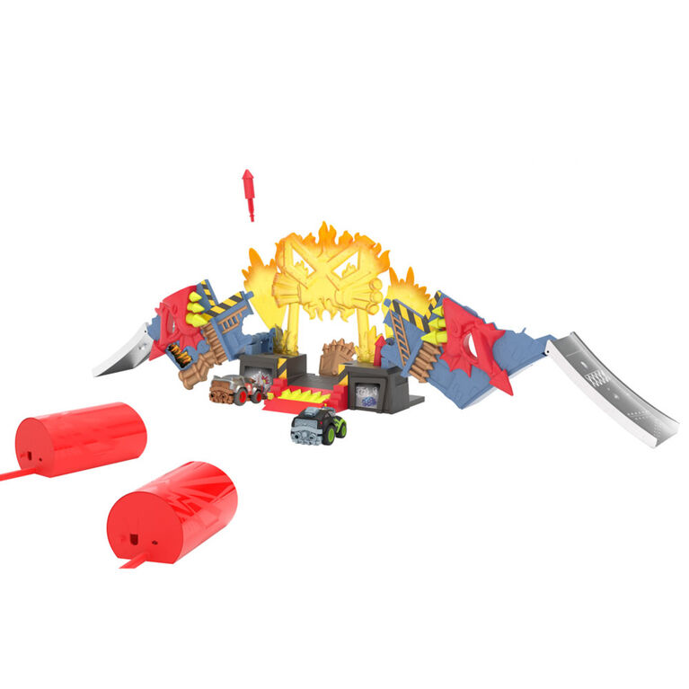Boom City Racers:  Fireworks Factory Playset