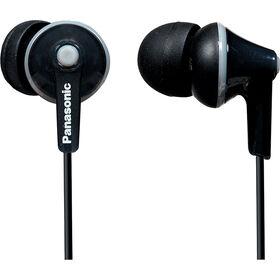 Écouteurs ergonomiques à isolation sonore RPHJE125 de Panasonic - noir