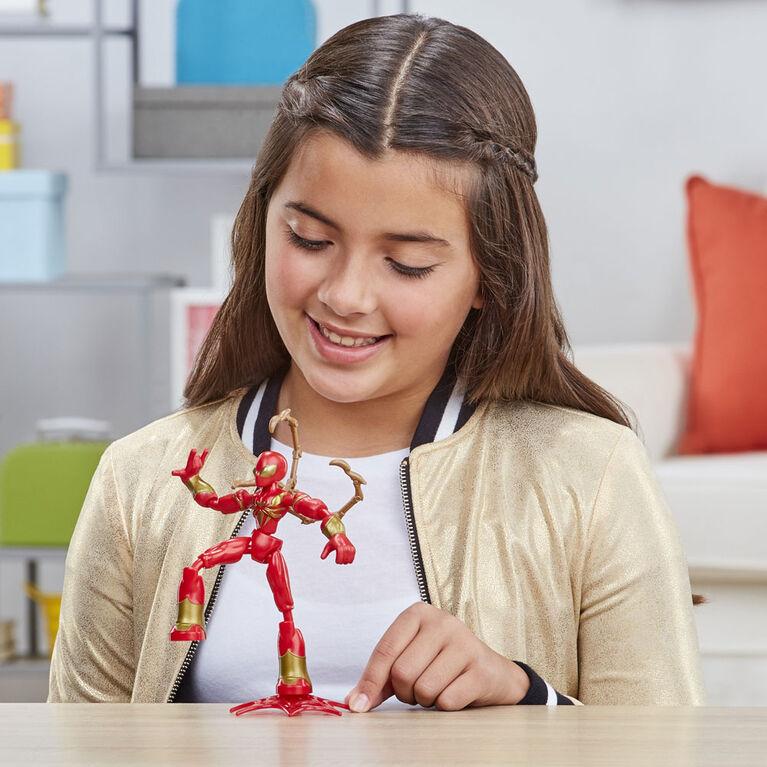 Marvel Spider-Man Bend and Flex Iron Spider Action Figure Toy