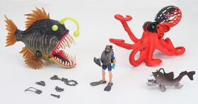 Animal Planet - Deep Sea Creatures Set