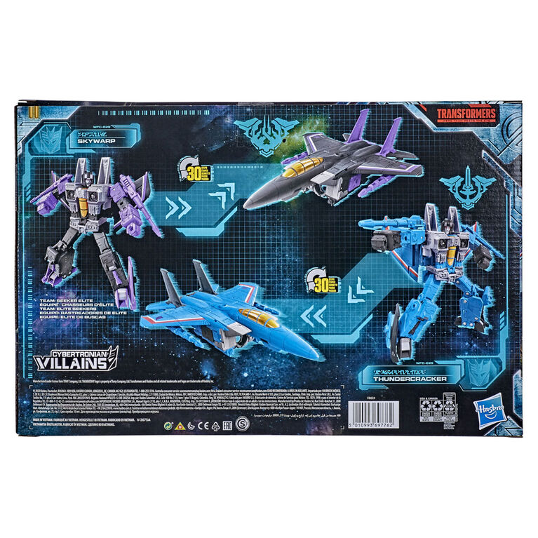 Transformers War for Cybertron: Earthrise Voyager WFC-E29 Seeker 2-Pack Action Figures - R Exclusive