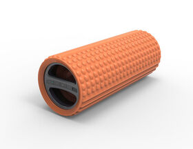 Sharper Image Exercise Foam Roller with Embedded Bluetooth Speaker - Orange