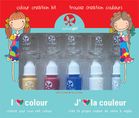 Suncoat Colour Creativity Kit DIY