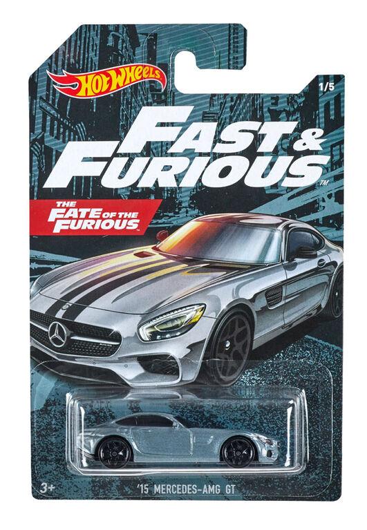 Hot Wheels - Véhicule '15 Mercedes-amg Gt