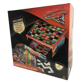 Disney Pixar's Cars 3 - Wooden 7-Game House