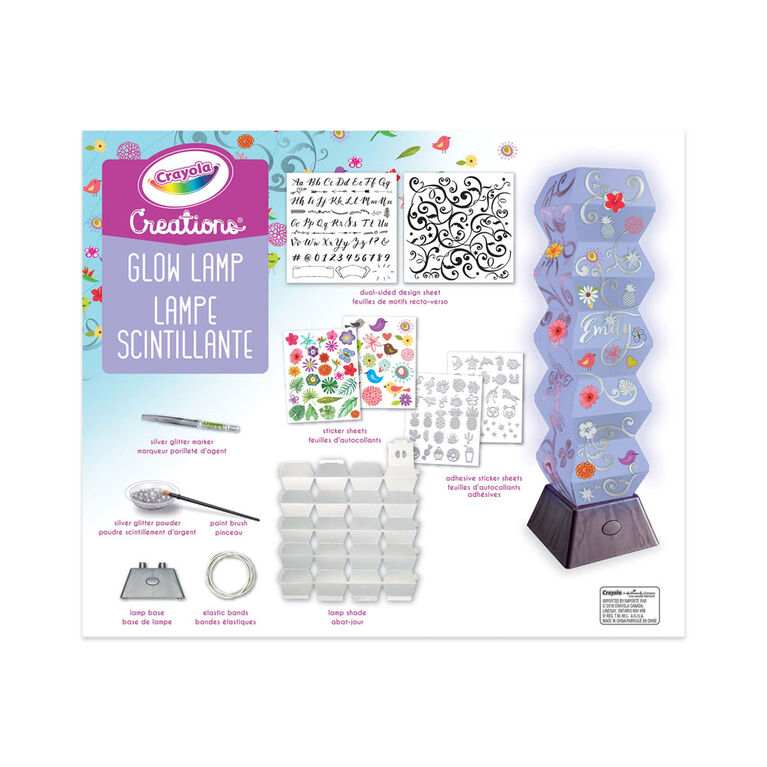 Crayola Creations Glow Lamp