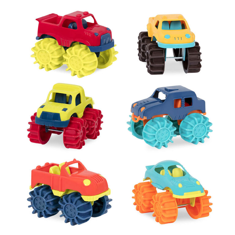 Mini Monster Trucks, B. Toys Petits camions
