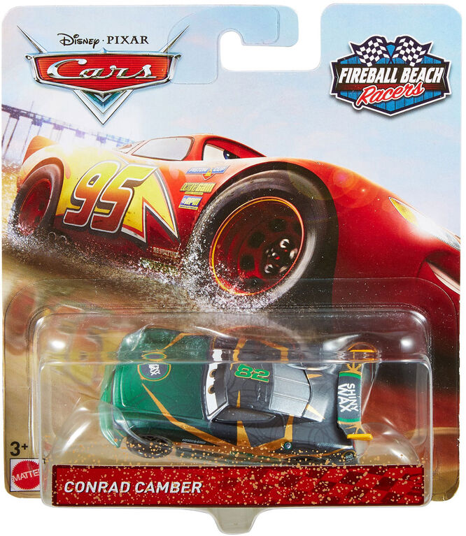 Disney/Pixar Cars Fireball Beach Racers Conrad Camber Vehicle