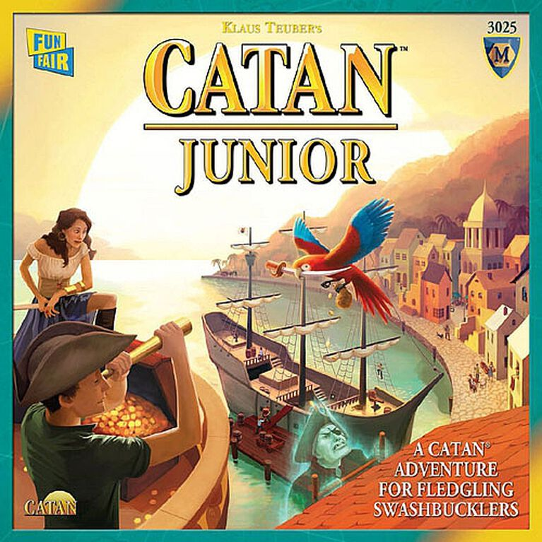 Catan Junior Game - English Edition