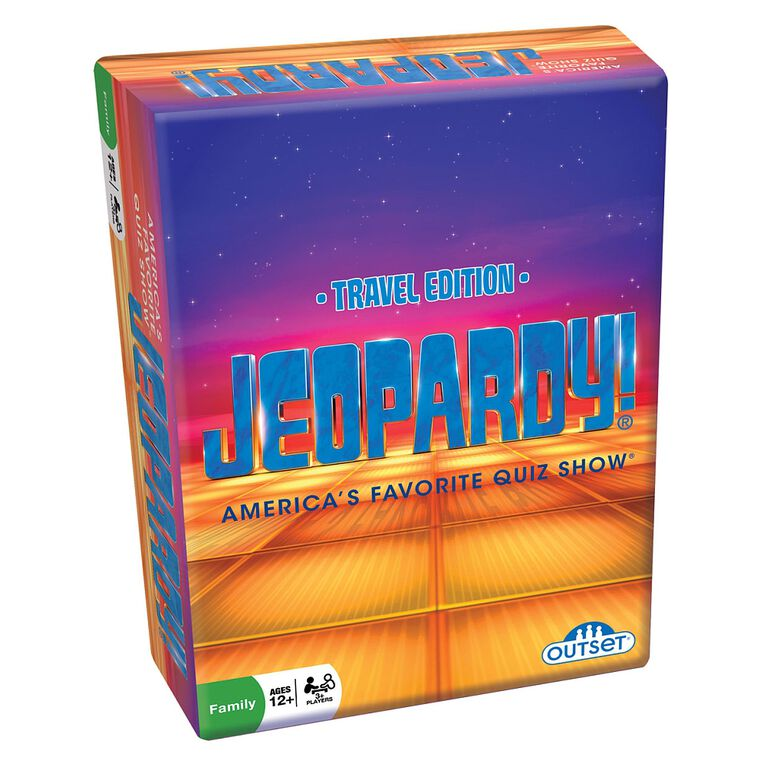 Jeopardy! Travel Edition Game