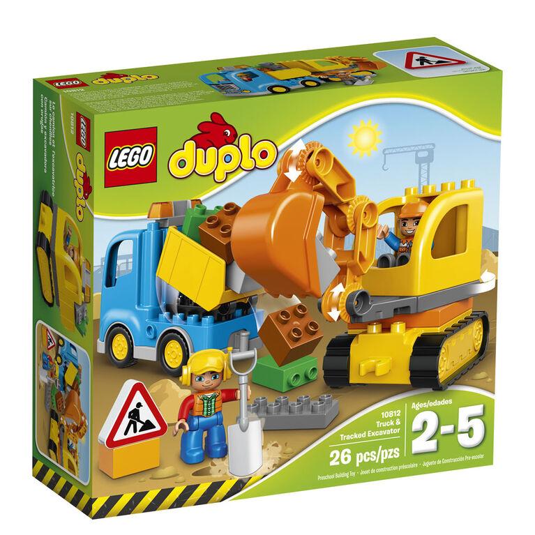 LEGO DUPLO Le camion et l'excavatrice 10812
