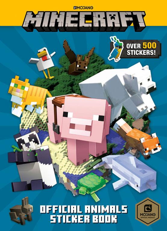 Random House BFYR - Minecraft Official Animals Sticker Book (Minecraft) - English Edition
