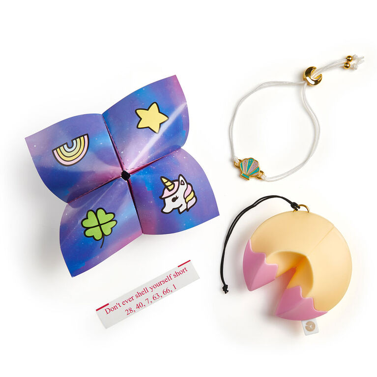 Lucky Fortune Blind Collectible Bracelets - Series 1 Take-out Box 4-pack - By WowWee