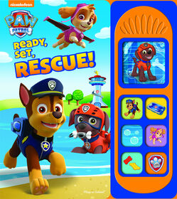 Nickelodeon PAW Patrol Little Sound Book: Ready, Set, Rescue!